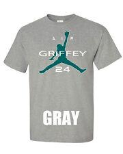 "Ken Griffey Jr. Seattle Mariners ""Air Griffey"" jersey T-shirt S-XXXXXL"