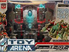 Transformers Prime EZ-10 Wheeljack with Spaceship Takara Action Figure