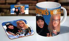 Waynes World Classic Colour Tea / Coffee Mug Coaster Gift Set