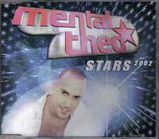 mental theo- stars 2002 cd maxi single eurodance holland