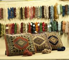 "RRA 13"" x 12"" Turkman Vintage Oriental Rug Hand Bag Purse"