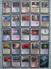 Babylon 5 CCG The Great War Rare Cards Part 4/4 (She - Z)