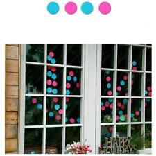 Rainbow Circle Round Paper Garlands Party Banner Wedding Room Decoration 4M - Dd