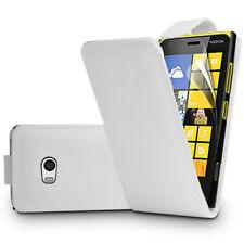 Piel Artificial Funda protectora de móvil con tapa para Nokia Lumia 930