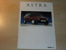 21522) Opel Astra Prospekt 1993