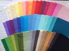 Exklusives Seidenpapier, viele Farben, farbecht, ph-neutral, 17 g/m², 10 Blatt