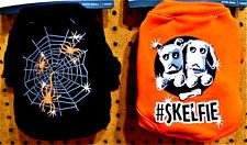 HALLOWEEN Dog Puppy Light Up Shirt XS/ S /M CHOOSE SIZE & TYPE Orange or Black