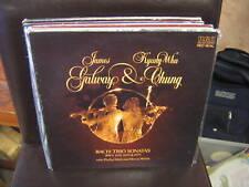James Galway/Kyung-Wha Chung BACH Trio Sonatas vinyl LP 1981 EX RCA Red Seal