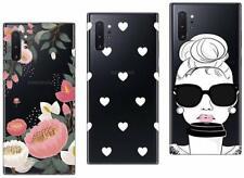 3 coques fantaisie gel souple solide pour Samsung Galaxy Note 10 , Note 10 Plus