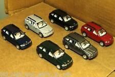 SET OF 6 BMW X5 1/72  SCALE DIE CAST NICE & NEW