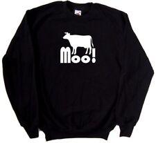 Cow Moo Funny Sweatshirt