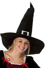 Hexenhut Hauberhut Hut Kostüm Karneval Halloween schwarz NEU Gothik