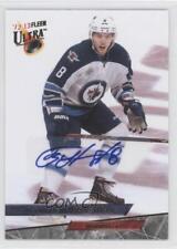 2012-13 Fleer Retro #'93-34 Alexander Burmistrov Winnipeg Jets Auto Hockey Card