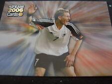 Team 2006 Cards Bastian Schweinsteiger jubelnd glänzend FCB Bayern München DFB