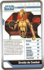 Star Wars - Top Trumps - The Clone Wars - DROIDE DE COMBAT