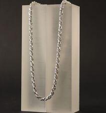 Herren Silberkette Kordelkette Echt 925 Silber Damen Halskette Collier | 3,5 mm