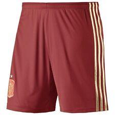 adidas Spanien FEF Kinder Home Fußball Short Hose Espagna Spain Shorts Rot