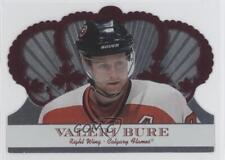 2000-01 Pacific Crown Royale Red #17 Valeri Bure Calgary Flames Hockey Card