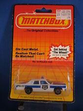 Matchbox No. 10 Police Car