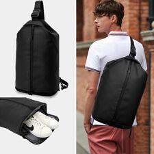 TUGUAN Waterproof Chest Bag Antitheft USB Charging Messenger Bag Outdoor Handbag