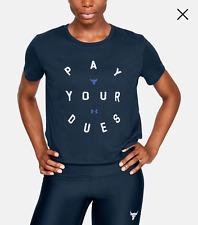 Under Armour Project Rock Dues Women's Short Sleeve Shirt, 1346822