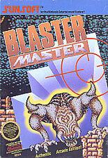 Blaster Master NES Game Cartridge, (NES)