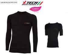 MAGLIA TECNICA NERA TRASPIRANTE TERMICA DA CACCIA PESCA SPORT Shirt BK UOMO