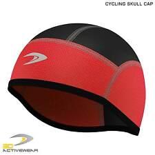 Red Skull Cap Thermal Cycling Beanie Running Helmet Liner Outdoor Hats Warmer