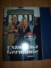 ENZO BIAGI:GERMANIE.RIZZOLI 1976 IN COFANETTO- PRIMA EDIZIONE ASSOLUTA!GEOGRAFIA