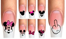 Wraps Nail Tattoos Maus Mouse hangemalt Schleife Trend Kinderliebling Mädchen