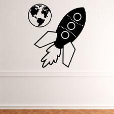 Earth UK Light Switch Vinyl Sticker Decal Space Bedroom LI69