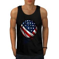 Juego de baloncesto USA Sport Men Camiseta sin mangas Nuevo | wellcoda
