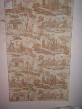 """Brunschwig & Fils """"Le Kakatoes"""" romantic toile remnants various colors/sizes"""
