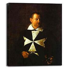Caravaggio fra Antonio Martelli quadro stampa tela dipinto telaio arredo casa