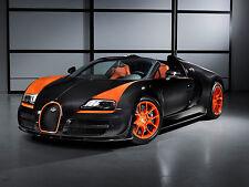 Bugatti Vitesse WRC Veyron Grand Sport Car BUG01 POSTER A4 A3 BUY 2 GET 1 FREE