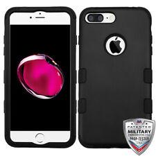 For iPhone 7 / 8 Plus TUFF Hybrid Design Phone Armor Protector Cover Case