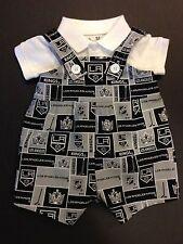 NHL LA Los Angeles Kings Baby Infant Toddler Boys Jumper Overalls * U PICK SIZE