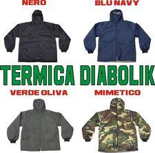TERMICA cappuccio DIABOLIK imbottita TESSUTO TERMICO disponibile in 4 COLORI