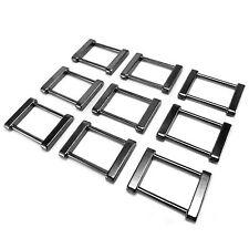 "Solid Rectangle Metal Square Ring Belt buckle for webbing 25 mm 1"""