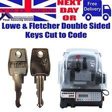 Lowe & Fletcher LF Keys Cut to Code Office Furniture-Alarm Panels-Cam Locks