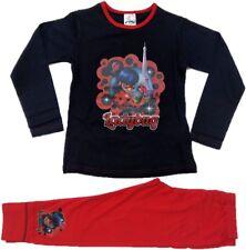 Official Girls Miraculous Ladybug Pyjamas Pajamas Pjs Children's Kids 5 6 8 10