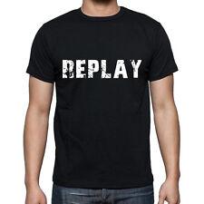 replay Tshirt, Homme Tshirt Noir, Mens Tshirt black, Cadeau, Gift
