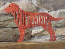 Chocolate Labrador Lab Dog Amish Made Wood Puzzle Toy