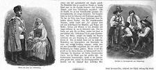 SIEBENBÜRGEN - SIEBENBÜRGISCHE TRACHTEN - SCHELLENBERG - STOLZENBURG - 1888