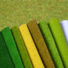 Model Grass Sheet Landscape Mat Wargame Scenery Railway Architecture Home Garden