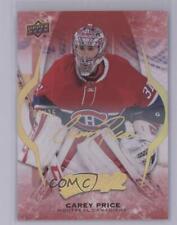 2016 Upper Deck MVP Super Script #204 Carey Price Montreal Canadiens Hockey Card