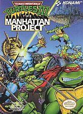 Teenage Mutant Ninja Turtles 3 III The Manhattan Project NINTENDO NES game 1992