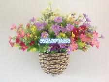 Artificial silk wedding flower Cineraria Chrysanthemum Daisy bouquet basket F103