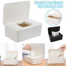 Feuchttücherbox Tissuebox Kosmetiktücherbox Taschentuchspender mit Deckel DE