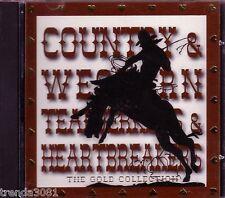 Country Western Tearjerkers Heartbreaker Gold Disc Classic 60s 70s Ferlin Husky